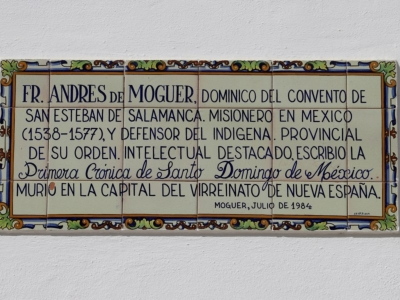PLACA FRAY ANDRES